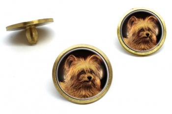 Skye Terrier  Golf Ball Marker Set