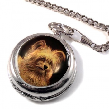 Skye Terrier Pocket Watch