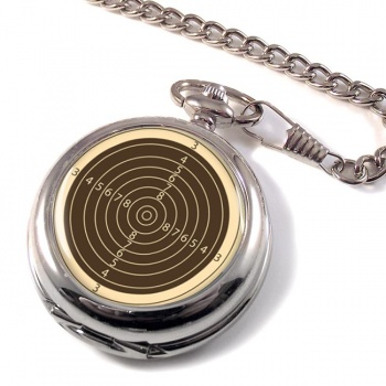 Small Bore Rifle Target Pocket Watch