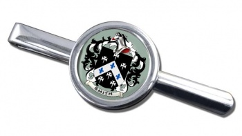 Smith England Coat of Arms Round Tie Clip