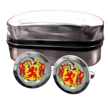 Smith Germany Coat of Arms Round Cufflinks