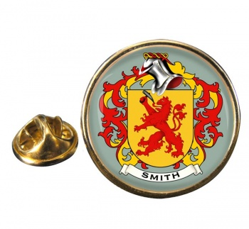 Smith Germany Coat of Arms Round Pin Badge