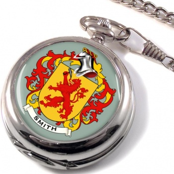 Smith Germany Coat of Arms Pocket Watch