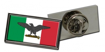 Repubblica Sociale Italiana (Italy) Flag Pin Badge