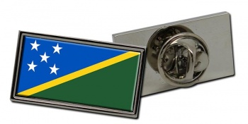 Solomon Islands Flag Pin Badge