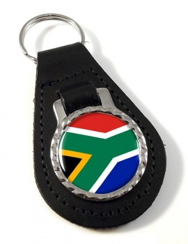 South Africa Leather Key Fob