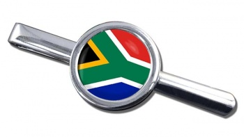 South Africa Round Tie Clip