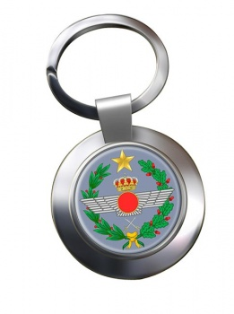 Eje�rcito del Aire Chrome Key Ring