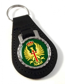 Eje�rcito de Tierra Leather Key Fob
