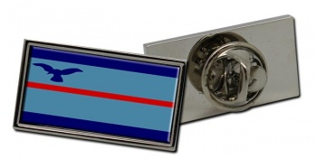Squadron Leader Rectangle Pin Badge