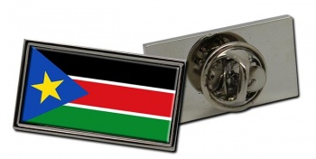South Sudan Flag Pin Badge