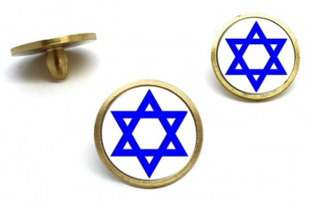 Star of David Golf Ball Markers