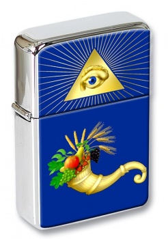 Masonic Lodge Officer Steward Flip Top Lighter