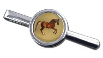 Horse Forcene by George Stubbs Tie Clip
