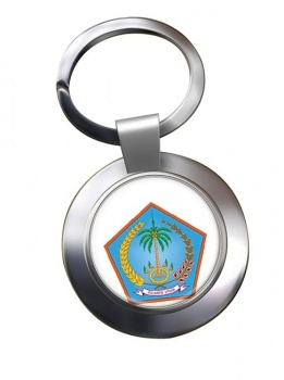 Sulawesi Utara (Indonesia) Metal Key Ring