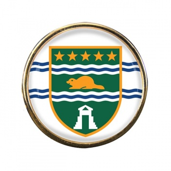 Surrey (Canada) Round Pin Badge