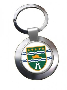 Surrey (Canada) Metal Key Ring