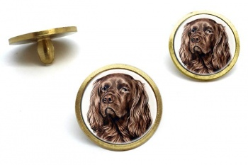 Sussex Spaniel  Golf Ball Marker Set