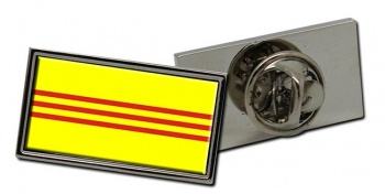 South Vietnam Flag Pin Badge