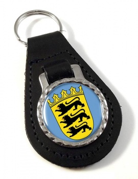 Schwaben (Germany) Leather Key Fob