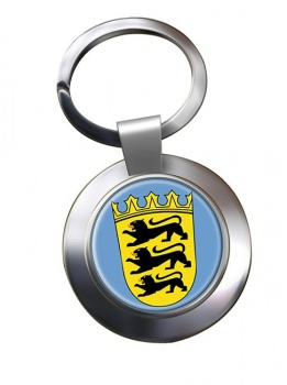 Schwaben (Germany) Metal Key Ring