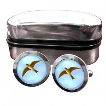 Swift  Round Cufflinks