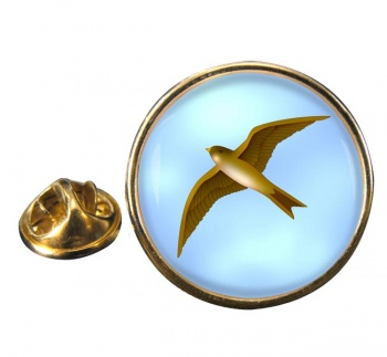 Swift Round Pin Badge
