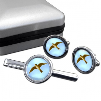 Swift  Cufflink and Tie Clip Set