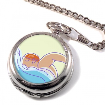 Swimming Pocket Watch