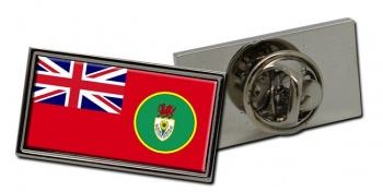South Wales Sea Fisheries Ensign Rectangle Tie Pin