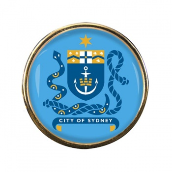 Sydney Australia Round Pin Badge