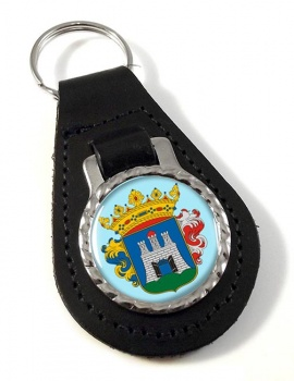 Szekesfehervar Leather Key Fob
