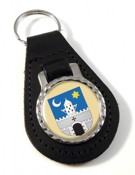 Szombathely Leather Key Fob