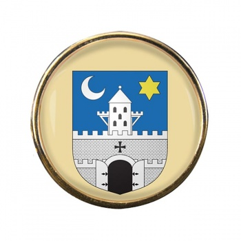 Szombathely Round Pin Badge