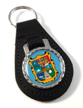 Tamaulipas (Mexico) Leather Key Fob