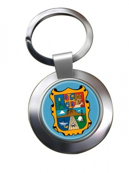 Tamaulipas (Mexico) Metal Key Ring