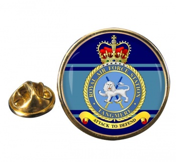Tangmere Round Pin Badge