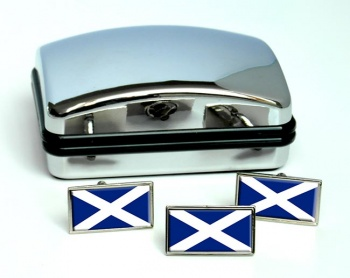 Tenerife (Spain) Flag Cufflink and Tie Pin Set