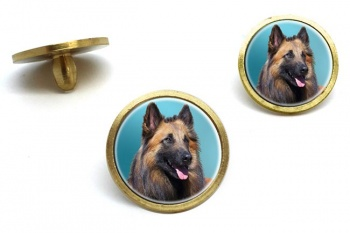 Belgian Shepherd Dog (Tervuren)  Golf Ball Marker Set