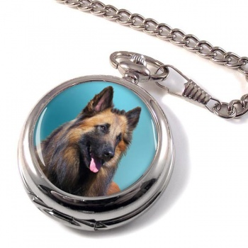 Belgian Shepherd Dog (Tervuren) Pocket Watch
