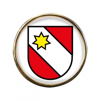 Thun (Switzerland) Round Pin Badge