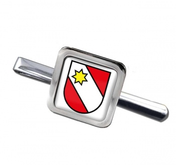 Thun (Switzerland) Square Tie Clip