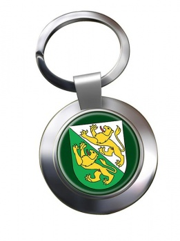 Thurgau (Switzerland) Metal Key Ring