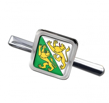 Thurgau (Switzerland) Square Tie Clip