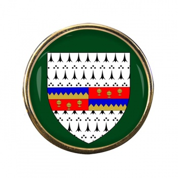 County Tipperary (Ireland) Round Pin Badge