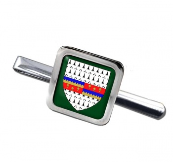 County Tipperary (Ireland) Square Tie Clip