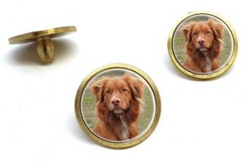 Nova Scotia Duck Tolling Retriever  Golf Ball Marker Set