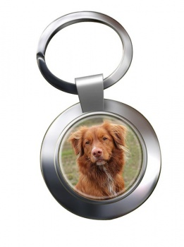 Nova Scotia Duck Tolling Retriever Metal Key Ring