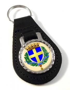 Toulon (France) Leather Key Fob