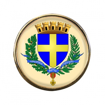 Toulon (France) Round Pin Badge